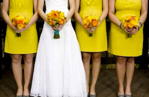 shop bridesmaid dresses at The White Dress