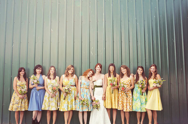 A Small Flowered Pattern On Light Sundress Can Be Wonderful Addition To An Outdoor Wedding