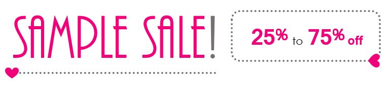 Sample Sale graphic