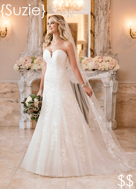 sample wedding gowns