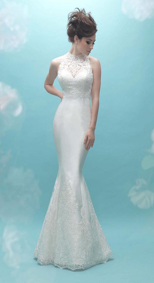 902609a4e14aa Annie Mae - Allure Bridals Mikado Trumpet/Mermaid - The White Dress