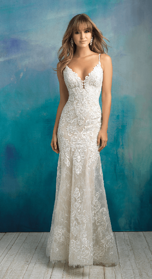 Kayleigh allure bridals lace sheath