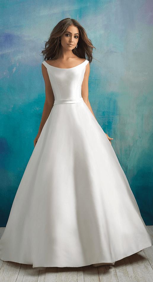 loralei allure bridals mikado ballgown