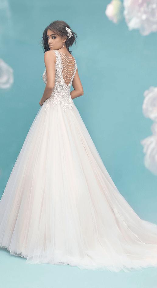 allure bridals tulle ballgown