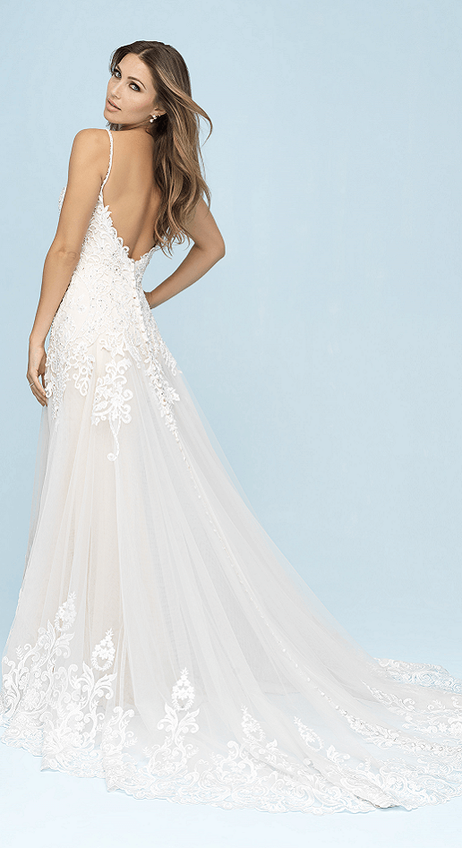 Allure Bridals Lace Fit and Flare