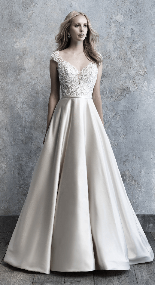 Madison James Satin Ballgown