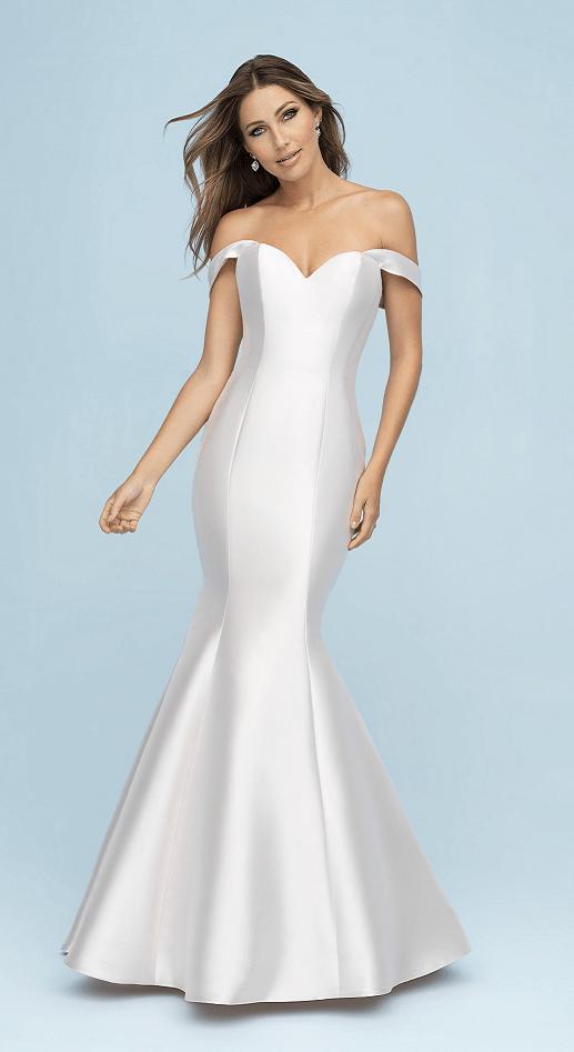 050a1b5dab9ca Priyanka - Allure Bridals Mikado Trumpet/Mermaid - The White Dress