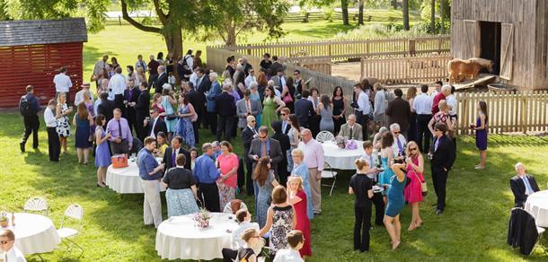 Ann Arbor, Michigan wedding venue at Cobblestone Farms