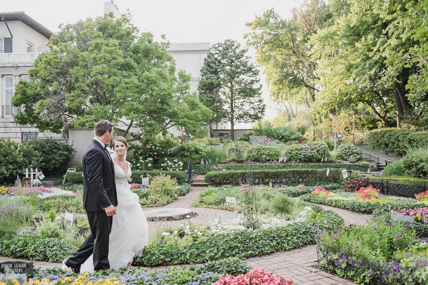 The Gross Point War Memorial wedding venue near Detroit, MI