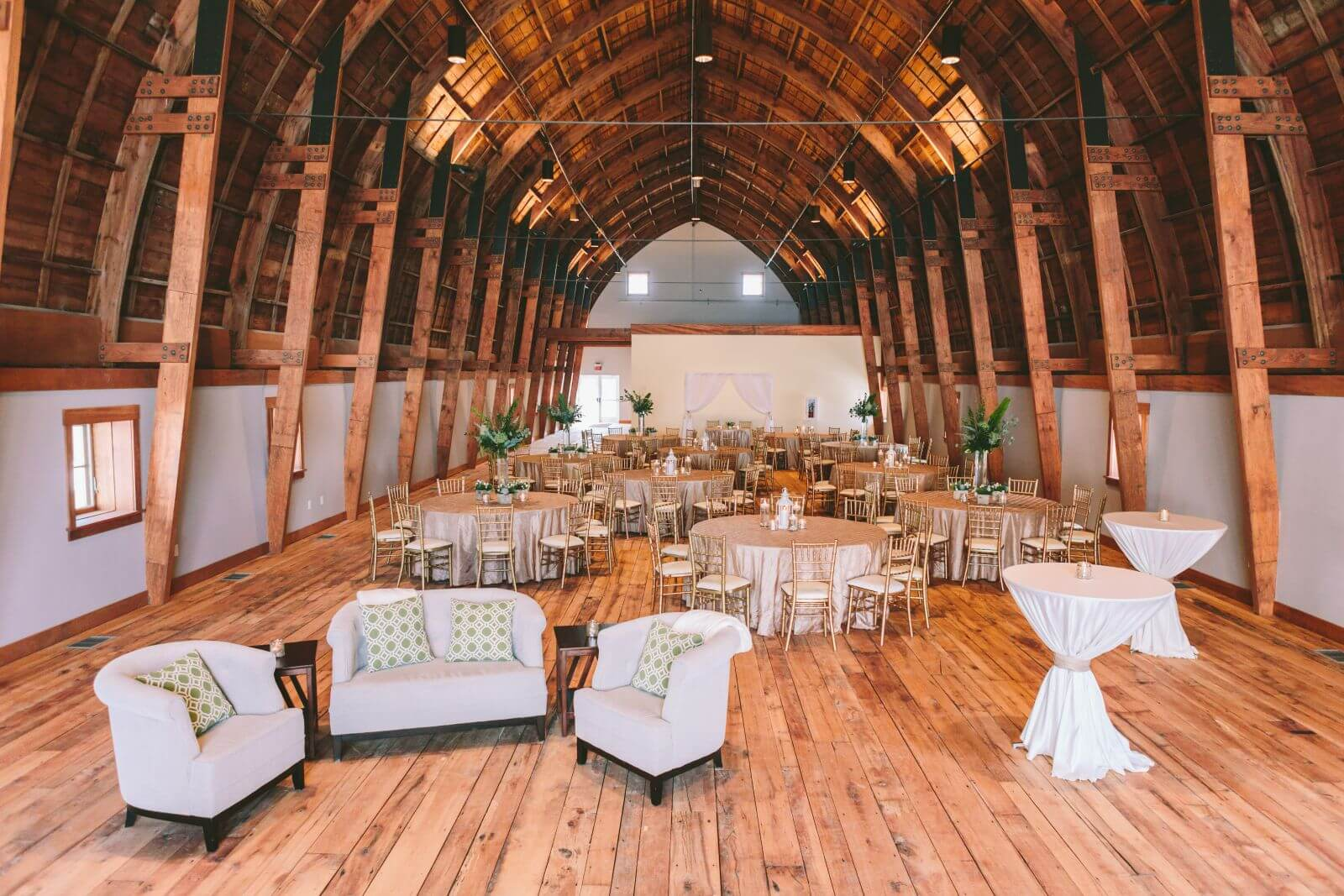 Cathedral Barn wedding venue, Traverse City