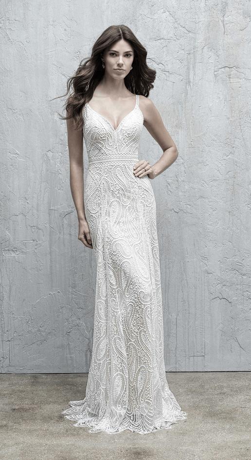 Aimee Madison James Lace Sheath