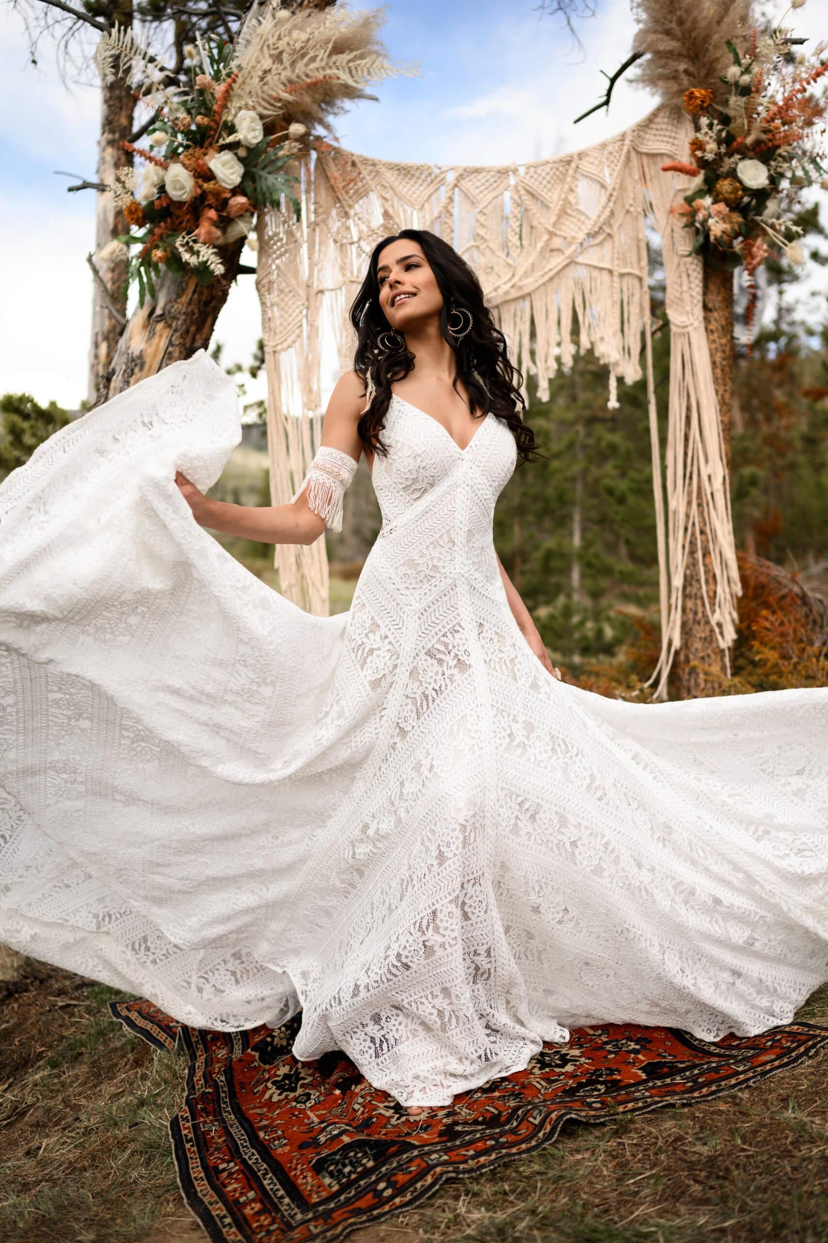 Boho Wedding Dresses Michigan Bridal Boutique The White Dress