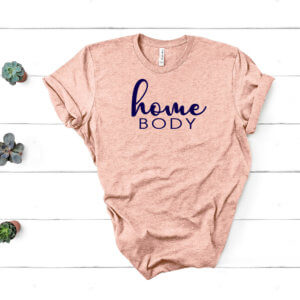 homebody blush shirt