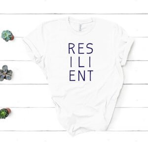 resilient white shirt