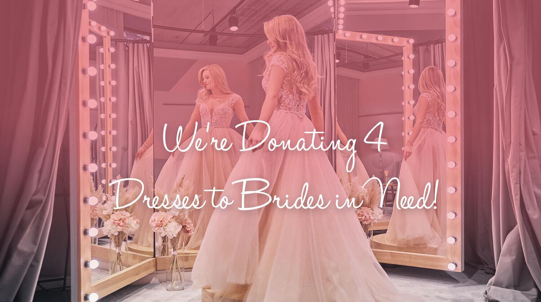 donating dresses