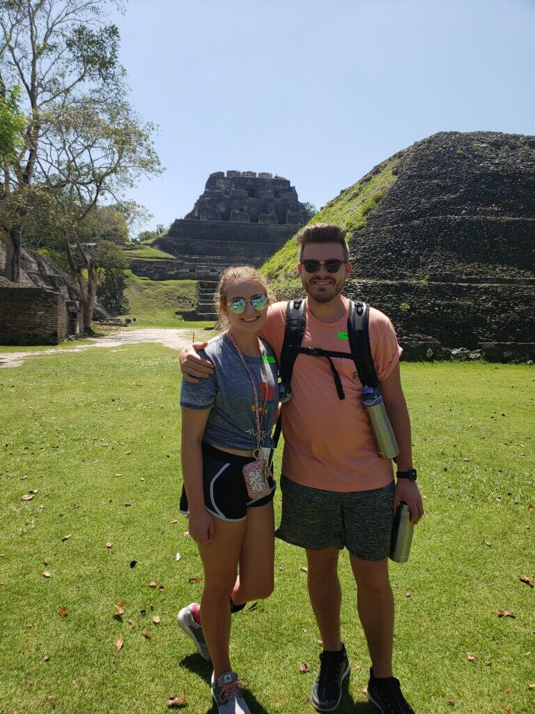 Tori and Jordan together on a trip.