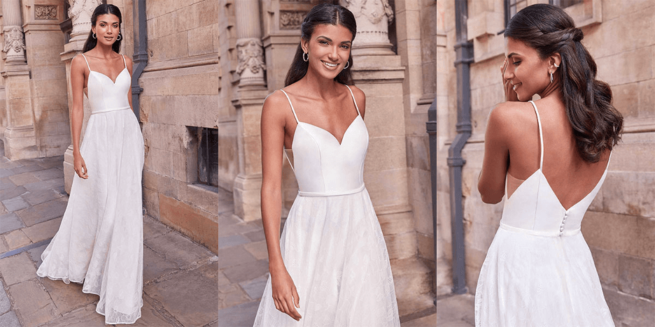 boho bridal gown